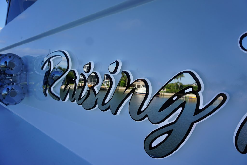 Luxury lighted lettering