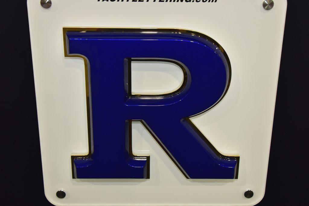 Custom Letter R
