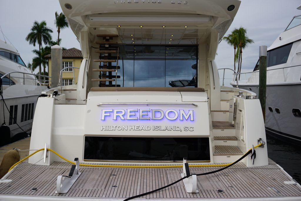 Yacht Named FREEDOM