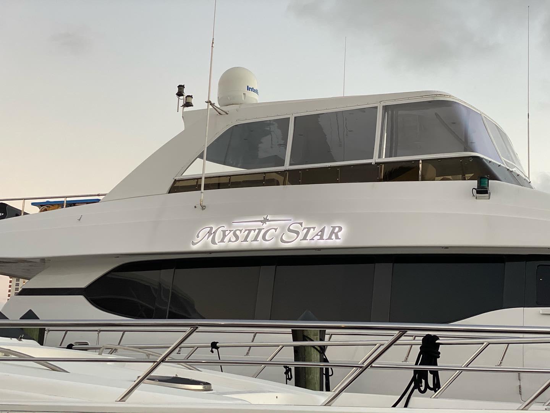 Yacht Signs Mystic Star