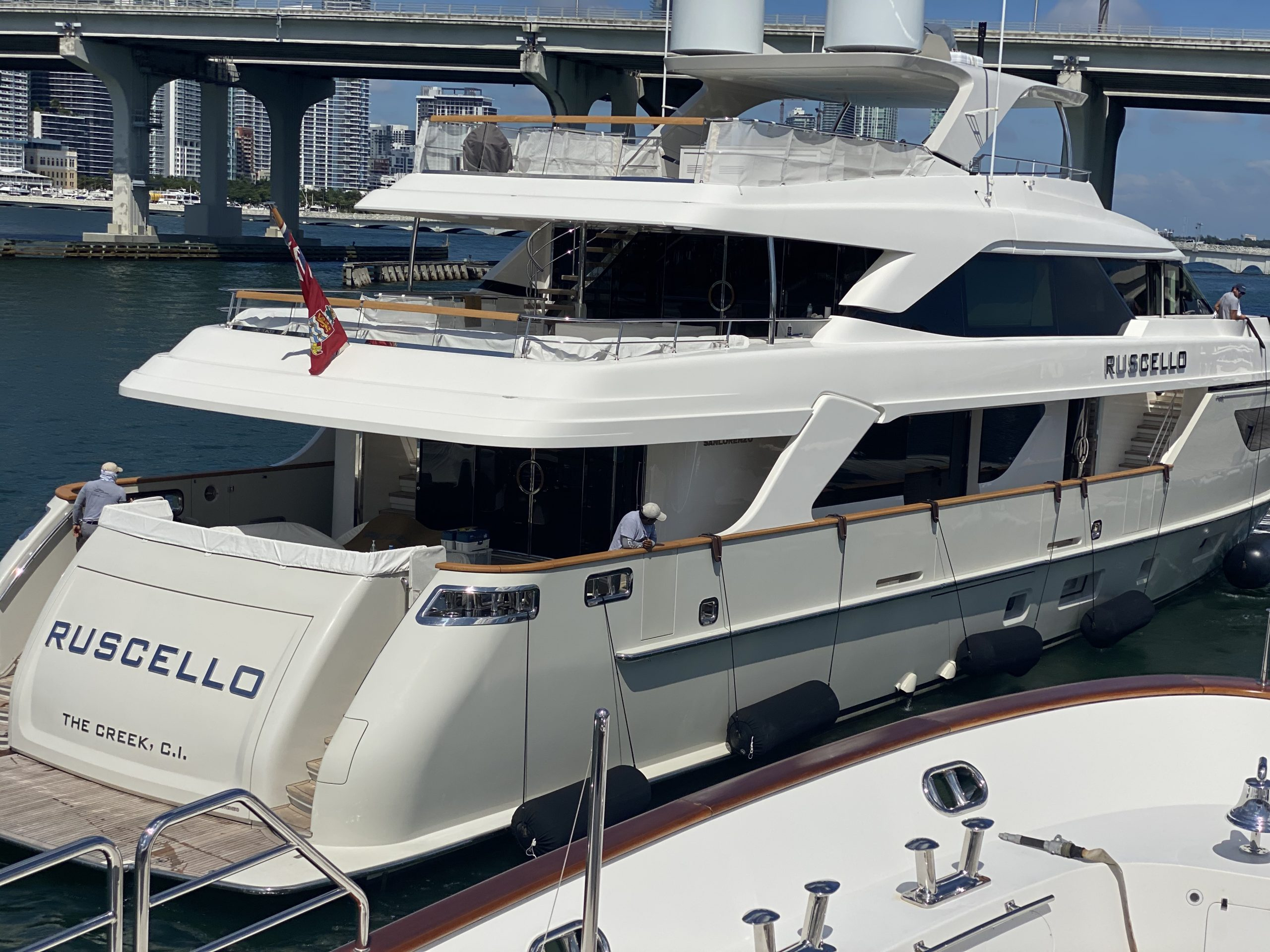 Yacht Signs RUSCELLO